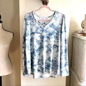 NWOT Sonoma Long Sleeves Top. Size XL